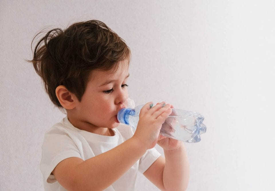 child hydration habits promotion