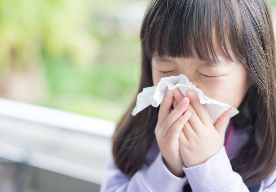 protecting children flu season