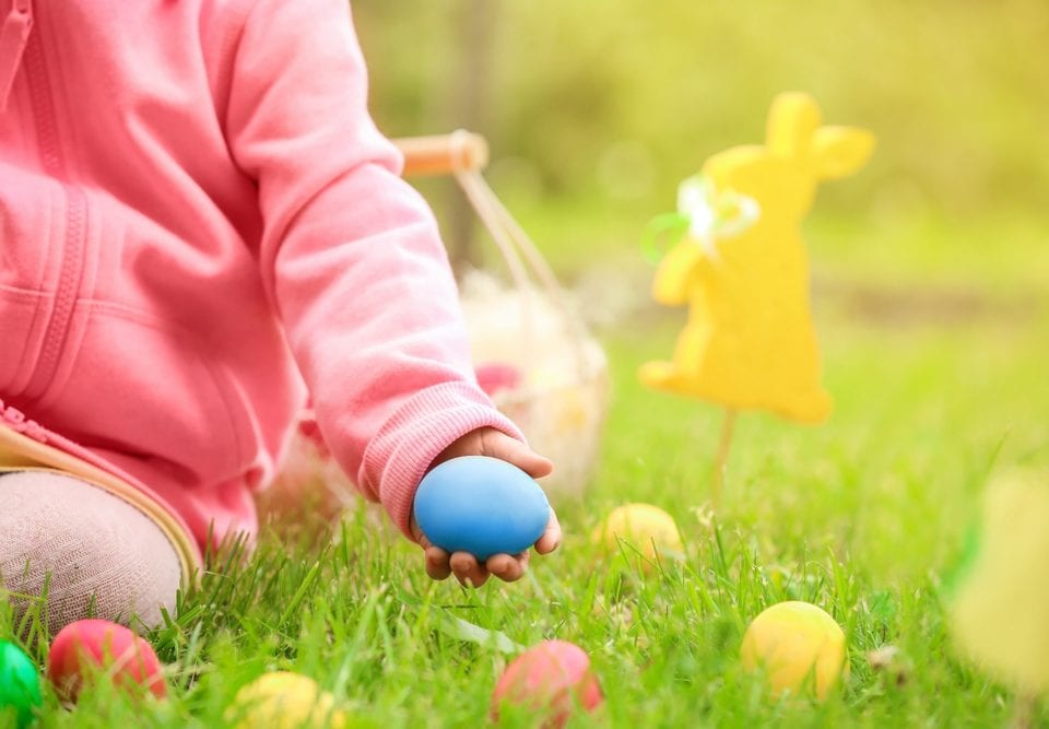 easter spring child activities allergies